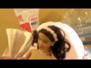 Как Сделать Прекрасный Нежный Торт Барби! Торт для Девочек
